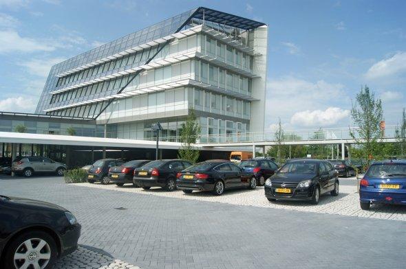 Realisatie buitenruimte kantoorcomplex